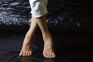 gepflegte Damenfüße, Pediküre, Fußpflege
